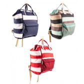 "12 of 14"" Mommy Backpack Diaper Bag in 3 Assorted Colors"