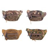 24 of Fanny Packs in 4 Assorted Camouflage Color