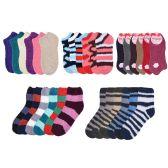 72 of Socks Women's Warm Fuzzy Slipper Soft Plush Cozy Casual