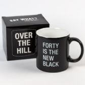 24 of Mug Stoneware Forty Is The New Black