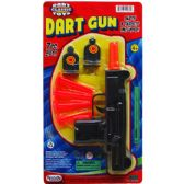 "48 of 7.5"" SOFT DART TOY UZI W/TARGETS ON BLISTER CARD"