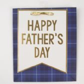 60 of Gift Bag Cub Embellished Navy Fathers Day