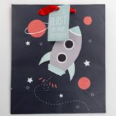 60 of Gift Bag Cub Embellished Rocket To Space Birthday