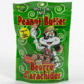 16 of Dog Treats Just For Me Peanut Butter Zipper Bag