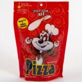 16 of Dog Treats Just For Me Pizza Zipper Bag