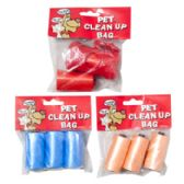 48 of Doggy Clean Up Bags 2 Strips