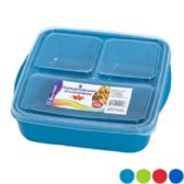 48 of Food Storage 3 Compartment Square
