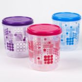 48 of Food Storage Container Printed Ruby Geometric