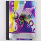 24 of Composition Book Color Slicks Foil