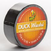24 of Tape Crafting Duck Washi Black