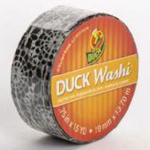 24 of Tape Crafting Duck Washi Black Medallion