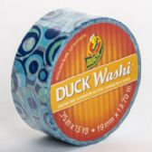 24 of Tape Crafting Duck Washi Blue Mod