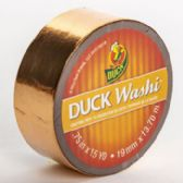 24 of Tape Crafting Duck Washi Metallic Copper