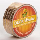 24 of Tape Crafting Duck Washi Metallic Herringbone