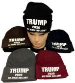 24 of Trump 2020 No More Bullshit Winter Beanie Hat