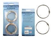 96 of 12 pc Shower Curtain Rings
