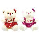 6 of Valentine Plush Teddy Bear With Skirt