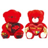 12 of Valentine Plush Teddy Bear With Heart And Hat