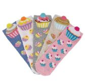 36 of Women's Cupcake Thin Casual No Show Socks