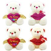 24 of Valentine Plush Bear Spanish Assorted