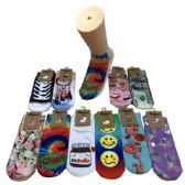 36 of Women's Fun Prints Thin Casual Ankle Socks
