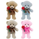 24 of Valentine Plush Bear With Heart