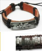 60 of Marijuana Faux Leather Bracelet