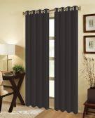24 of JEANNIE BLACKOUT GROMMET WINDOW PANEL IN BLACK