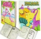 24 of Jumbo Unicorn And Flamingo Coloring Books