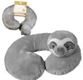 12 of Sloth Kids Neck Pillows