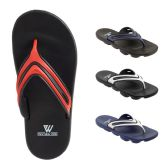 48 of Mens Sport Sandals Assorted Colors