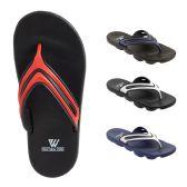 48 of Mens Sport Sandals Assorted Colors