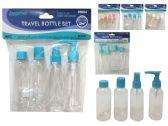 96 of Travel Bottle 4pc / Set Solid
