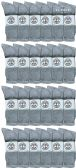 24 of Yacht & Smith Wholesale Kids Crew Socks, With Free Shipping , Sock Size 4-6 (Gray)