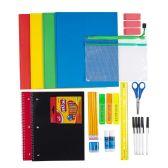 12 of 38 Piece Premium Kids Bulk School Supply Kits