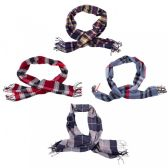 24 of Cashmere Winter Scarves in Assorted Colors