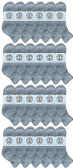 24 of Yacht & Smith Wholesale Kids Mid Ankle Socks, With Free Shipping Size 6-8 (Gray)