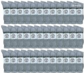 36 of Yacht & Smith Wholesale Kids Crew Socks,With Free Shipping Size 4-6 (Gray)