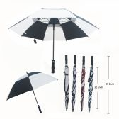 36 of 75CM DOUBLE WIND PROOF UMBRELLA