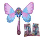 24 of Light and Sound Fairy Bubble Wand with Wings
