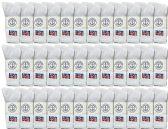 36 of Yacht & Smith Men's Wholesale Bulk Cotton Socks,With Free Shipping Size 10-13 (White USA)