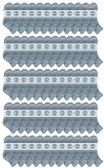 120 of Yacht & Smith Wholesale Bulk Women's Mid Ankle Socks, With Free Shipping - Size 9-11 (Gray)