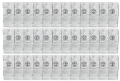 36 of Yacht & Smith Wholesale Kids Tube Socks,With Free Shipping Size 4-6 (White)