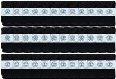 36 of Yacht & Smith Wholesale Kids Tube Socks,With Free Shipping Size 4-6 (Black)