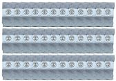 36 of Yacht & Smith Wholesale Kids Tube Socks,With Free Shipping Size 4-6 (Gray)