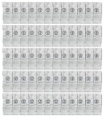 60 of Yacht & Smith Wholesale Kids Tube Socks,With Free Shipping Size 4-6 (White)