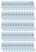 120 of Yacht & Smith Wholesale Bulk Kids Mid Ankle Socks, With Free Shipping Size 4-6 (White)