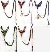 24 of Medium Dog Harness with dozen of assorted colors