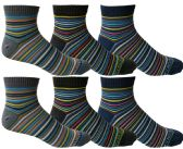 6 of Yacht & Smith Mens Cotton Quarter Ankle Socks,