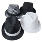 24 of Gangster Hat Striped/Checkered